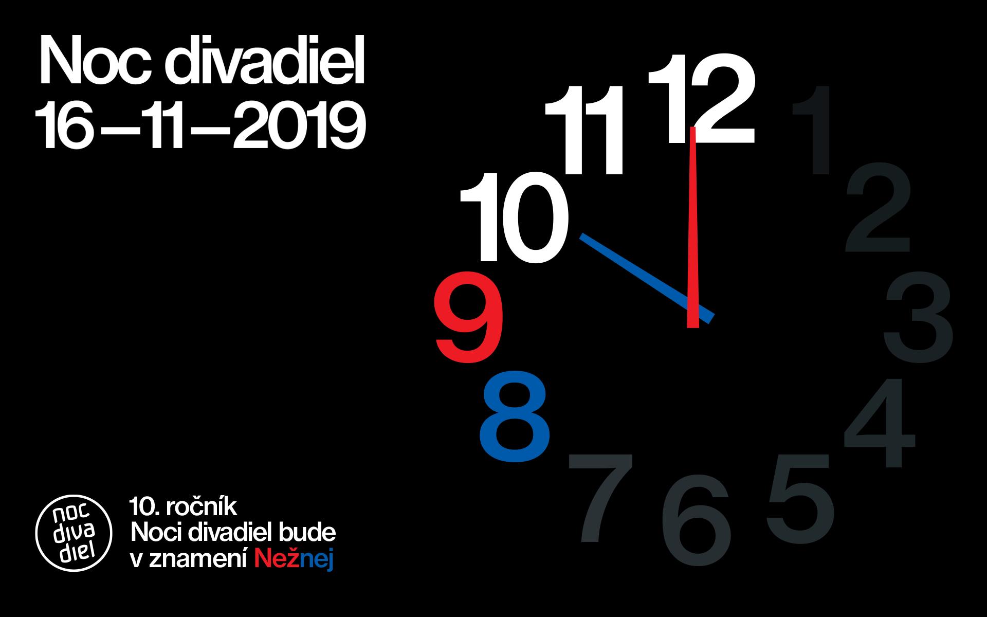 Noc divadiel 2019