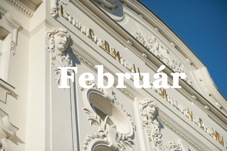 Február v predaji